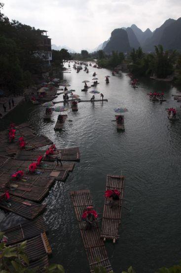 Langzhuo river