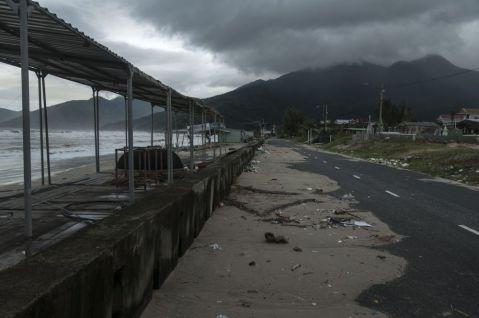 after a taifun