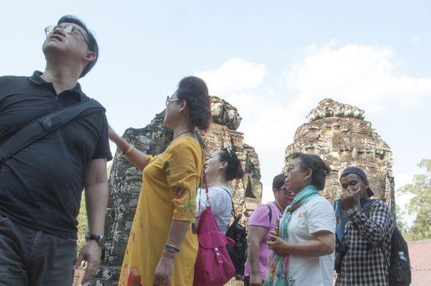 VisitorsinAngkorWat